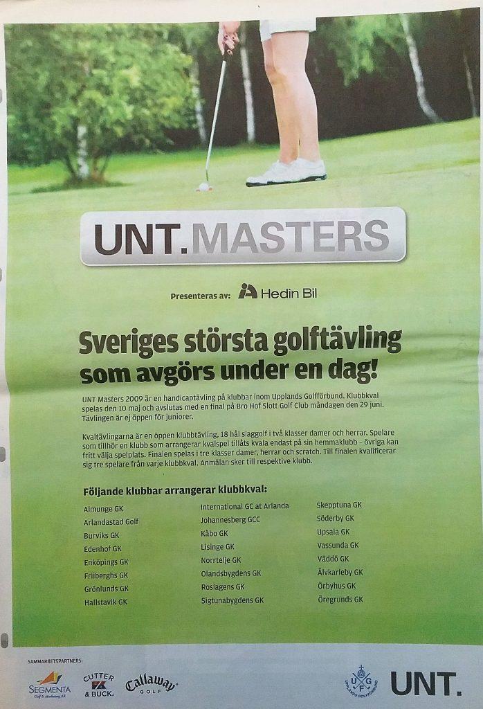 24 golfklubbar plus Wattholma GK som tillkom.